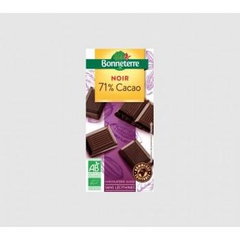 """Chocolat noir 71% """"bonneterre"""""""