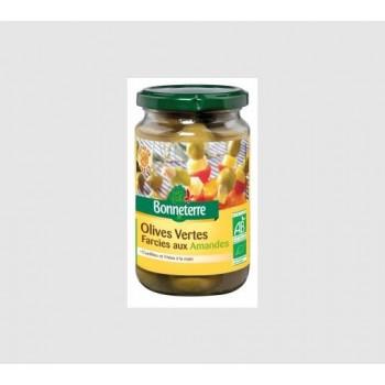 Olives vertes amandes...