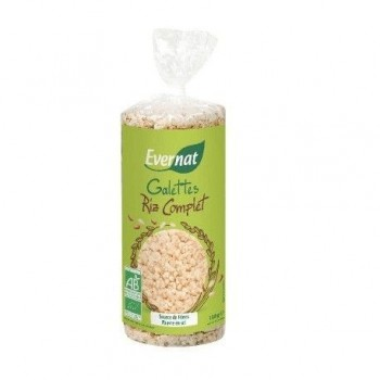 """Galettes riz complet """"evernat"""""""