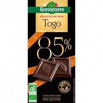 Choc.noir 85% togo 80g...