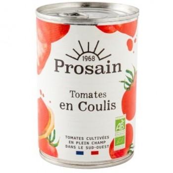 "Coulis tomates 410g ""prosain"""