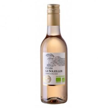 Vin rosé 25cl le soleiller