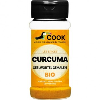 """Curcuma poudre 35g """"cook"""""""