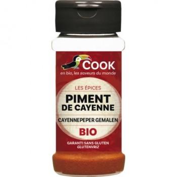 Piment cayenne moulu 40g Cook