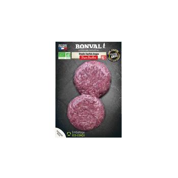 """Steak hache boeuf x 2 """"bonval"""""""