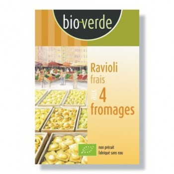 Ravioli 4 fromages 250g...